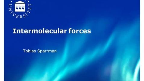 Miniatyr för inlägg 1. IntermolForce