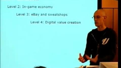 """Miniatyr för inlägg 050308 Zackariasson: """"Producing Massively Multiplayer Online Games: The Politics of Inscriptions"""""""