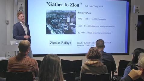 """Miniatyr för inlägg 181211 Feller: """"Making Zion, Making Media"""""""