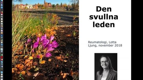 Miniatyr för inlägg T8 REUMA Den svullna leden Lotta Ljung 181111