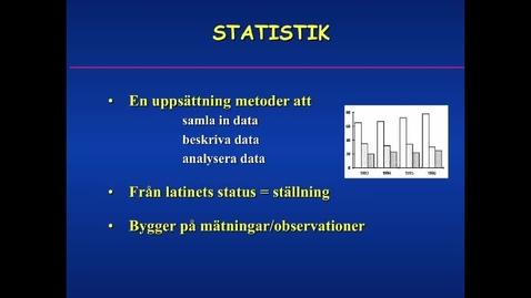 Miniatyr för inlägg Statistik