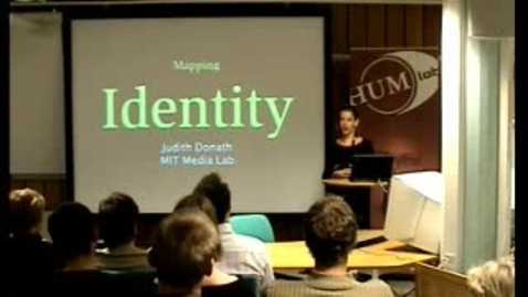 "Miniatyr för inlägg 030918 Donath: ""Mapping Identity"""