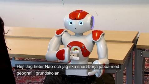 Miniatyr för inlägg Lärarroboten NAO