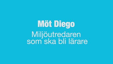 Miniatyr för inlägg Möt Diego - miljöutredaren som blev lärare där det passar