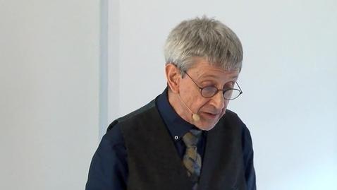 Miniatyr för inlägg Honorary Doctor Charles Burnett 2018