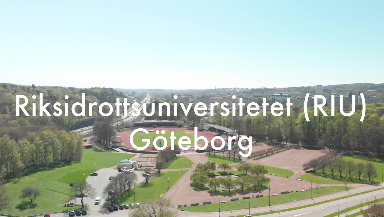 Vad är egentligen Riksidrottsuniversitetet Göteborg?