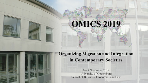Miniatyr för inlägg Organizing Migration and Integration, University of Gothenburg 2019