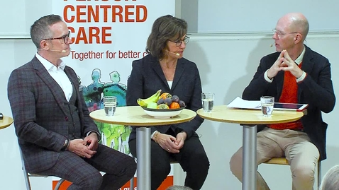 Miniatyr för inlägg A Dialogue about Person-centred Care between Brendan McCormack and Inger Ekman