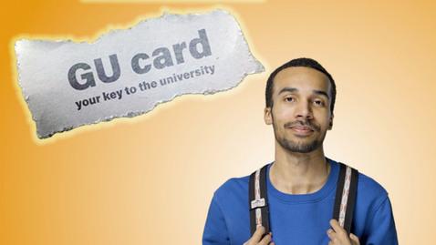 Miniatyr för inlägg GU card – your key to the university