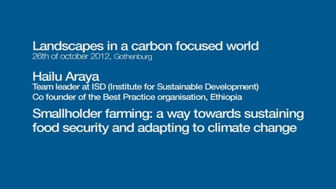 Miniatyr för inlägg Smallholder farming: a way towards sustaining food security and adapting to climate change