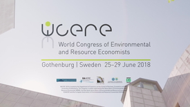 Miniatyr för inlägg Gothenburg WCERE 2018 – 6th World Congress of Environmental and Resource Economists