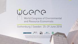 Miniatyr för inlägg Gothenburg WCERE 2018 – 6th World Congress of Environmental and Resource Economists