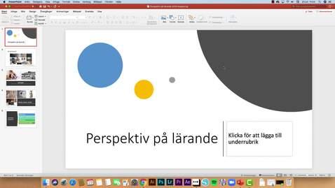 Miniatyr för inlägg PowerPoint 365 - spela in din presentation (Mac)