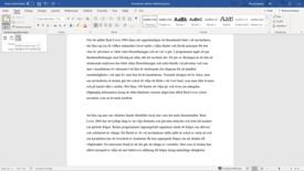 Miniatyr för inlägg Word 365 - Klistra in så det funkar