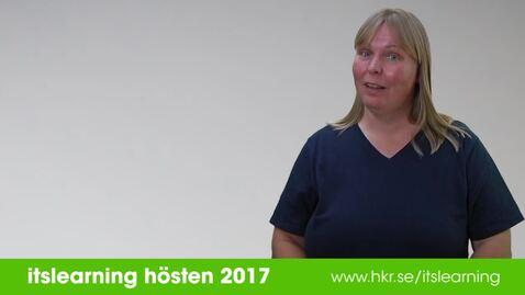 itslearning hösten 2017