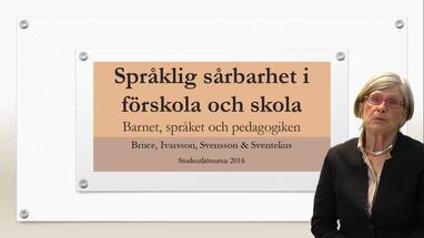 Paradigmskifte i skolans värld  språkstörning byts mot pedagogiska ... 838ae6c926157