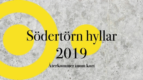 Miniatyr för inlägg Södertörn hyllar 2019 Del 2