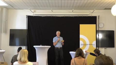 Miniatyr för inlägg Svenskarna och EU-valet i backspegeln. Varför gick det som det gick?  Almedalsveckan 2019 Tema: Hur mår Europa idag? Del 1.