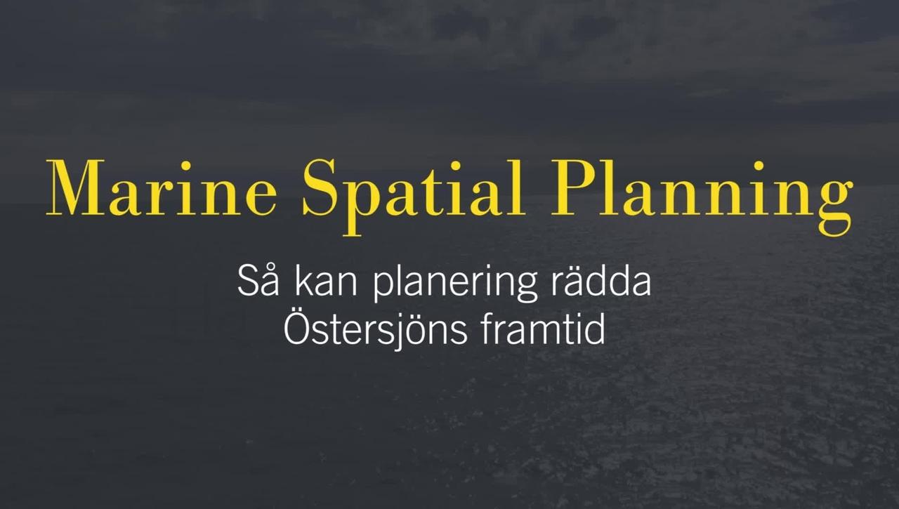Kira Gee om havsplanering
