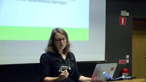 Miniatyr för inlägg Elina Eriksson – IT och ett hållbart samhälle  del 2 / 2018