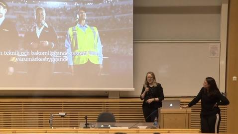 Miniatyr för inlägg Annika Hövik & Cecilia Mella – Jobba tillsammans! (del 1) / 2017