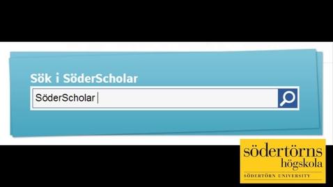 Miniatyr för inlägg SöderScholar Hitta-vetenskap