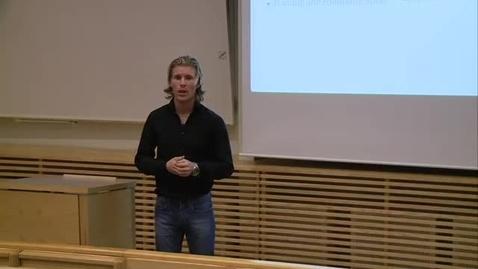 Miniatyr för inlägg Daniel Eliasson - Apputveckling för mobiltelefoner / 2011