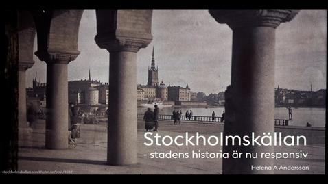 Miniatyr för inlägg Helena A Andersson – Stockholmskällan / 2017