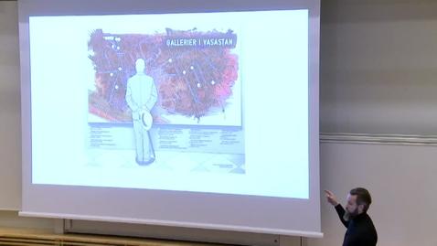 Miniatyr för inlägg Thomas Molén - Visuell journalistik (del 2) / 2017