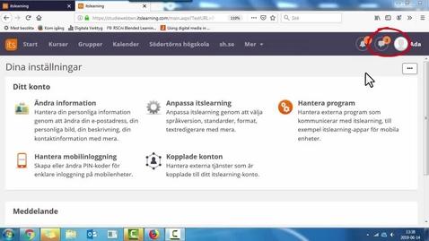 Miniatyr för inlägg Allt om meddelande funktionen i studiewebben
