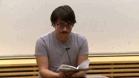 Miniatyr för inlägg Rasmus Fleischer – Kan vad som helst vara en bok? / 2011
