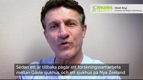 Thumbnail for entry Hirsh Koyi - överläkare lungcancerenheten Gävle sjukhus