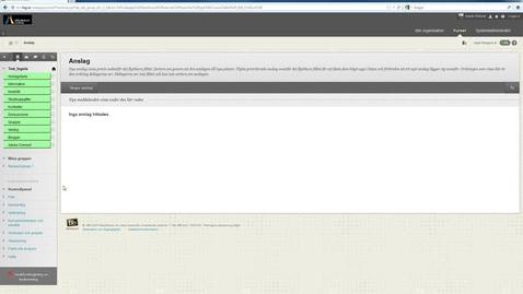 Thumbnail for entry Flytta och justera kolumner i Kursadministration och resultat Blackboard Learn 9.1 (1)