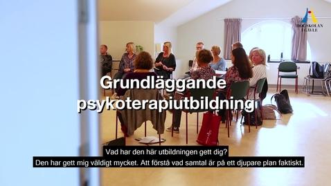 Thumbnail for entry Grundläggande psykoterapiutbildning med systemisk familjeterapeutisk och relationell inriktning