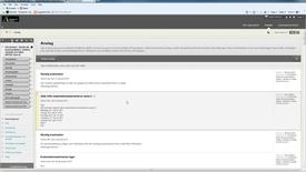 Thumbnail for entry Ladda ner uppgifter Kursadministration och resultat Blackboard Learn 9.1 (1)