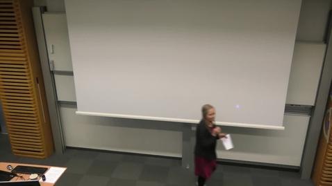 """Thumbnail for entry Föreläsning David Jonstad """"Jordad – Enklare liv i kollapsens skugga"""""""