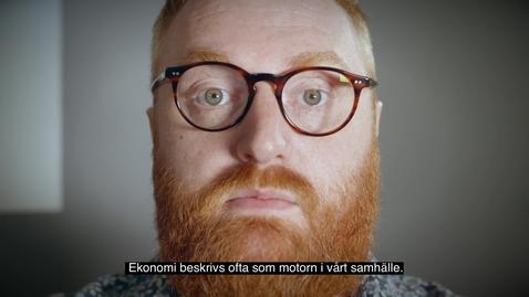 Thumbnail for entry Marknadsföringsfilm om  ekonomiämnet vid Högskolan i Gävle