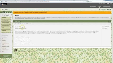 Thumbnail for entry Andra text på menyknapp i kursmeny i Blackboard Learn 9.1