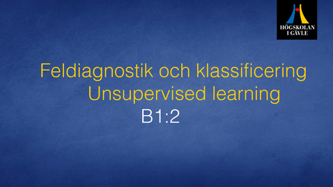 Thumbnail for entry Feldiagnostik och klassificering - Modul B1:2