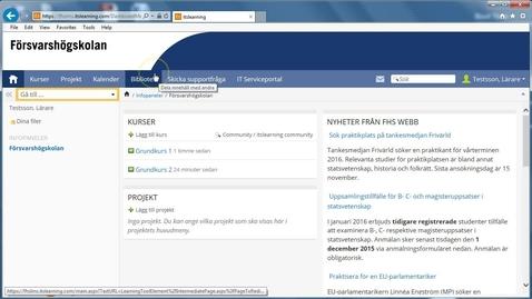 Thumbnail for entry LMS - skicka meddelande