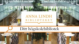 Thumbnail for entry Ditt högskolebibliotek