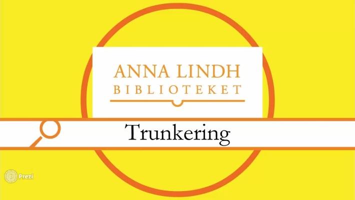 Trunkering
