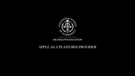 Thumbnail for entry Apple as a platform provider