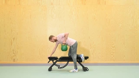 Thumbnail for entry KI Kettlebell or Dumbbell Row
