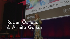 Thumbnail for entry KI Culture and Creativity Day 2018: Ruben Östlund och Armita Golkar