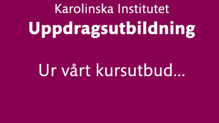 Thumbnail for channel Uppdragsutbildning
