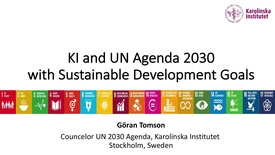 Thumbnail for entry KI and UN Agenda 2030 with Sustainable Development Goals