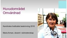 Thumbnail for entry Huvudområdet omvårdnad (med undertext)