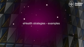 Thumbnail for entry eHealth strategies - examples