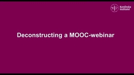 Thumbnail for entry Deconstructing a MOOC webinar